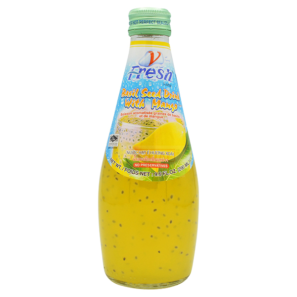 Basil Seed Drink w/ Mango - 290mL