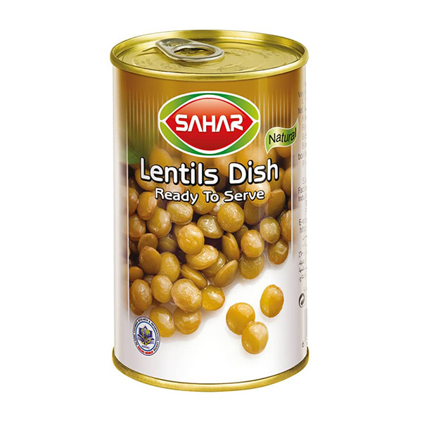 Canned lentils - 410g