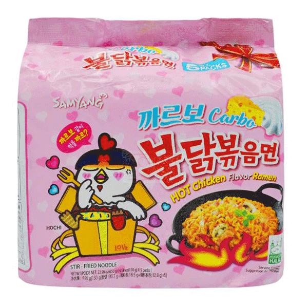 Hot Chicken Carbo Ramen - 5*130g