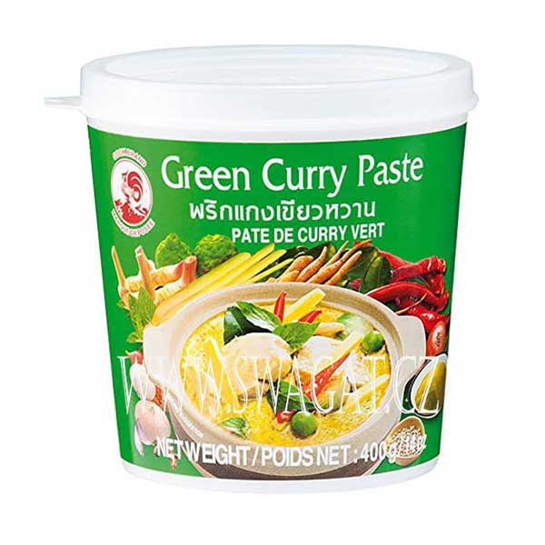 Cock Brand Green Curry Paste - 400g