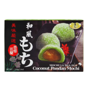 Royal Family Coconut Pandan Mochi - 210g