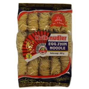 Egg Thin Noodle Kvik - 400g