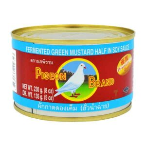Fermented Green Mustard Half in Soy Sauce - 230g