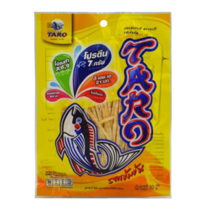 Taro Fish Snack Spicy - 30g