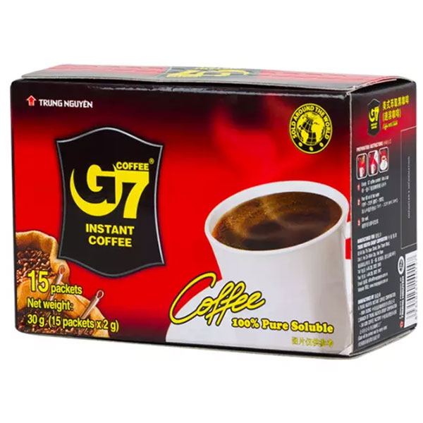 G7 Pure Black Coffee - 30g