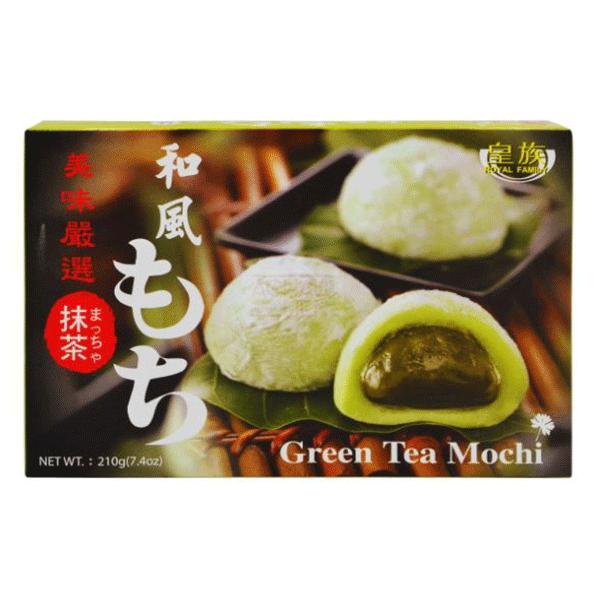 Royal Family Green Tea Mochi - 210g