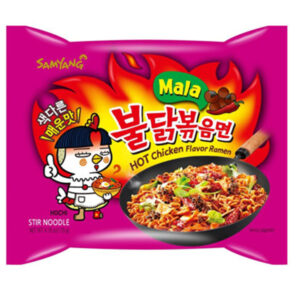 Hot Chicken Flavor Ramen Mala - 135g