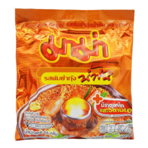 Instant Noodles Shrimp Creamy Tom Yum - 55g