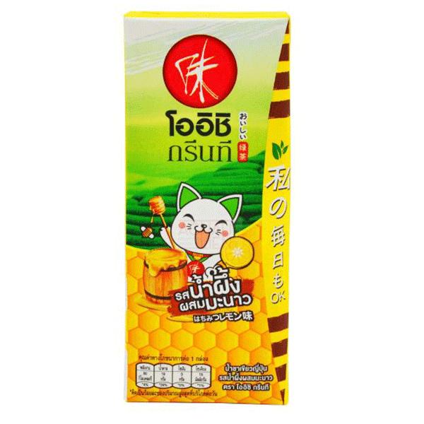 Japanese Green Tea Honey Lemon - 180mL