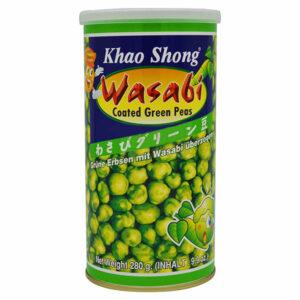 Khao Shong Wasabi Coated Green Peas - 280g