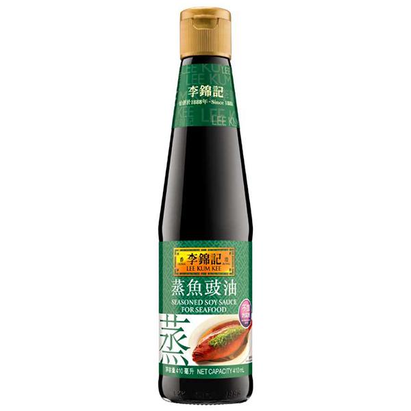 LKK Seasoned Soy Sauce for Seafood - 410mL