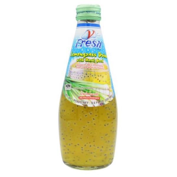 Lemongrass Drink w/ Basil Seed - 290mL