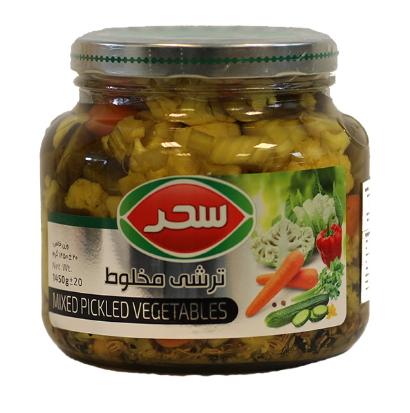 Mixed Pickled Vegetables - 1450g