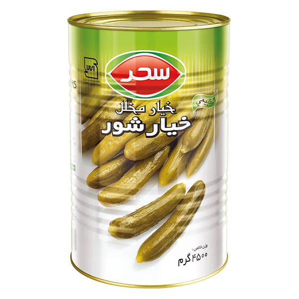 Pickled Cucumber - 4000g