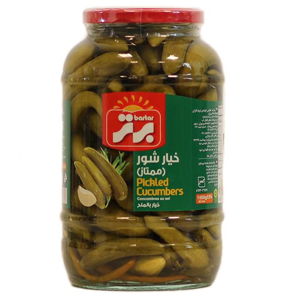 Pickled Cucumber (Grade A) - 1500g