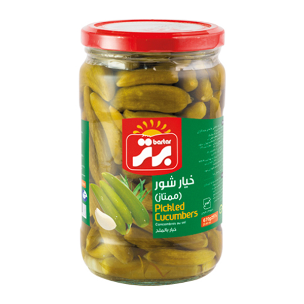Pickled Cucumber (Grade A) - 670g