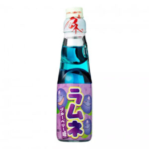 Hatakosen Ramune Blueberry - 200mL