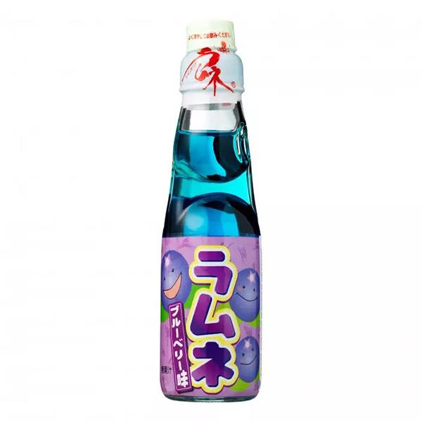 Hatakosen Ramune Blueberry - 200mL