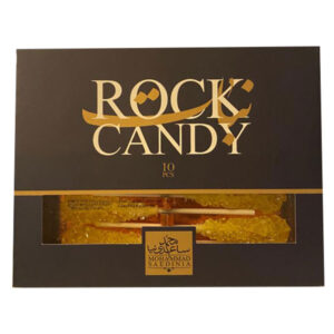 Saffron Rock Candy 10 Pcs - 165g