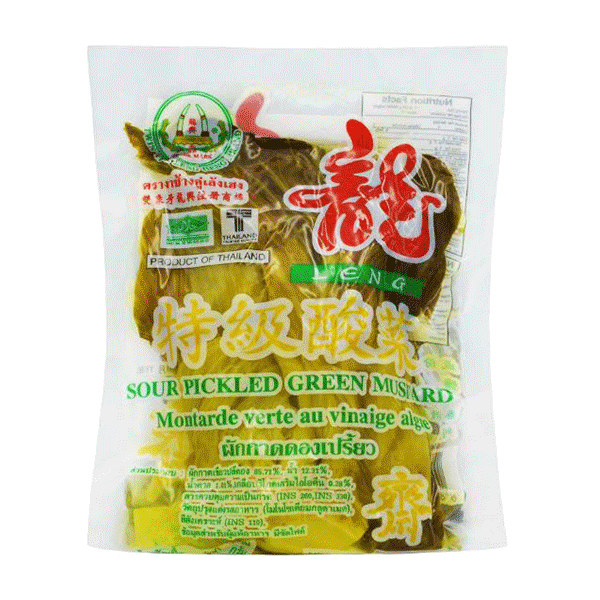 Sour Pickled Green Mustard - 350g