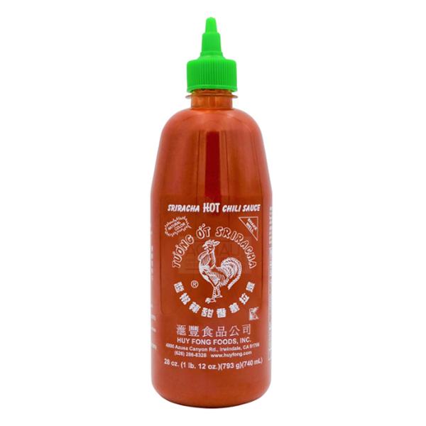 Huy Fong Sriracha Chili Sauce - 740mL
