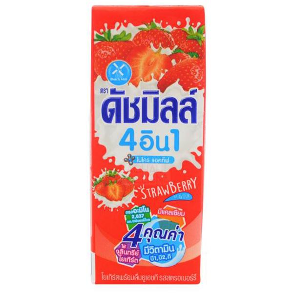 Dutch Mill Yoghurt Drink Strawberry - 180mL