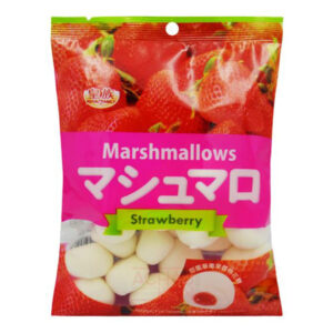 Strawberry Marshmallows - 100g