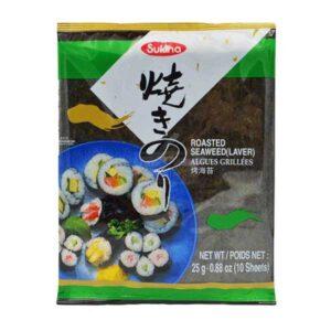 Sukina Roasted Seaweed (10 sheets) Sushi Nori - 25g