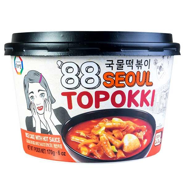 Surasang Rice Cake w/ Hot Sauce - 170g