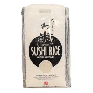 Aoyama Sushi Round Rice - 10kg