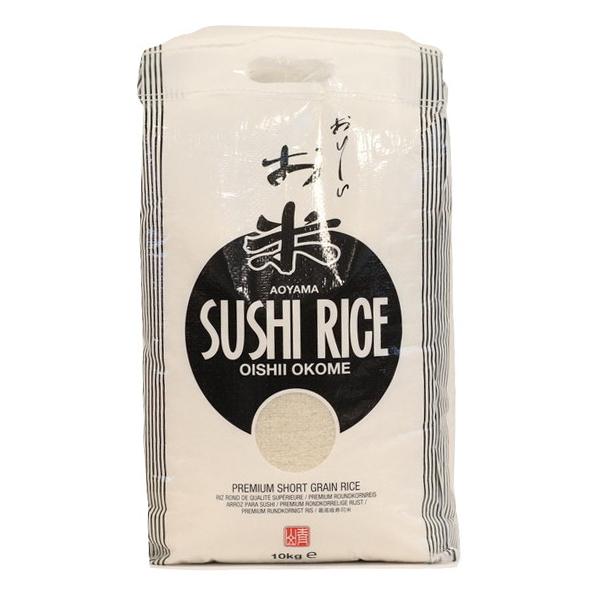 Køb Aoyama - Sushi Round Rice - 10kg fra Danmad online webshop. Danmad er en online butik med fødevareingredienser, 24 timer i døgnet, med en meget rimelig pris,