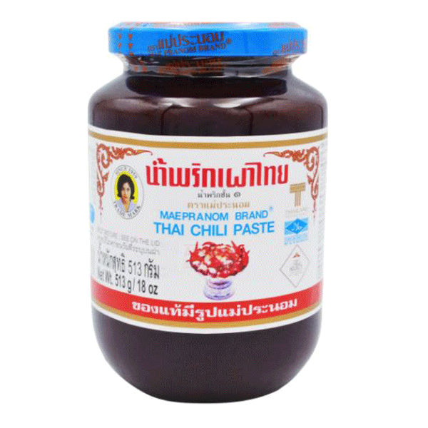Mae Pranom Thai Chili Paste - 513g