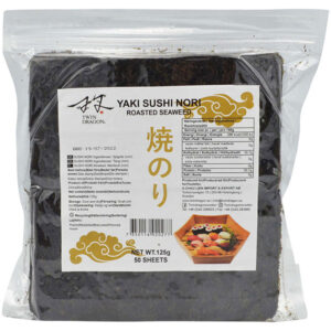 Twin Dragon Roasted Seaweed (half cut - 50 Sheets) - 125g