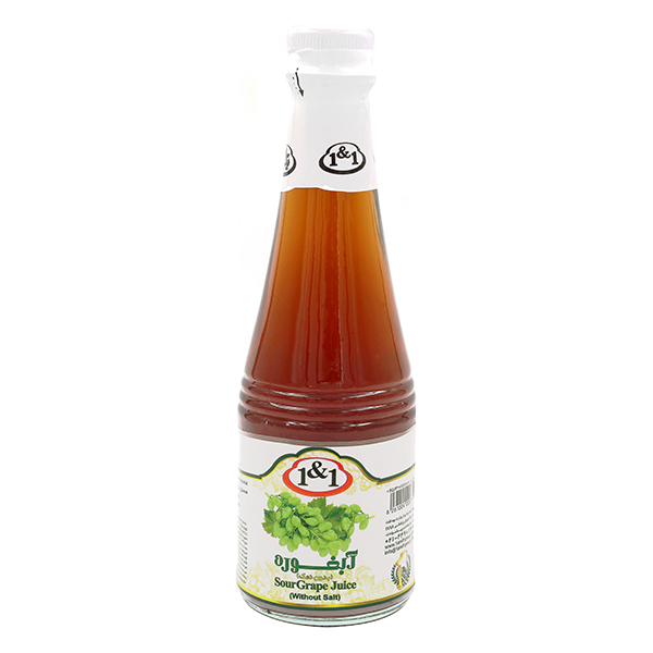 1&1 Unripe Grape Juice (Abghooreh) - 300cc