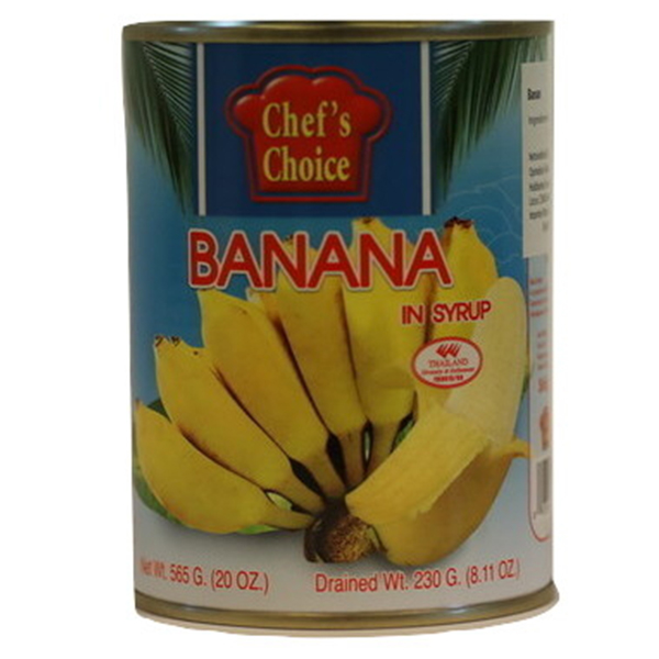 Banana In Syrup - 565g