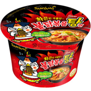 Hot Chicken Flavor Ramen Stew Big Cup - 120g