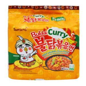 Buldak Curry hot Chicken Flavor Ramen - 700g