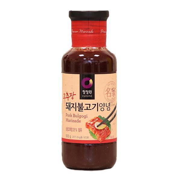 Bulgogi Seasoning Sauce for Pork 'CJW' - 500g