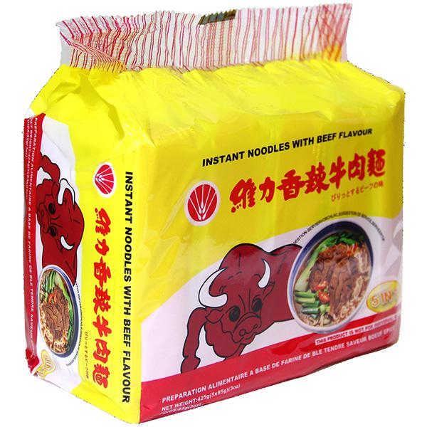 Instant Noodle Beef Flavour - 5*85g