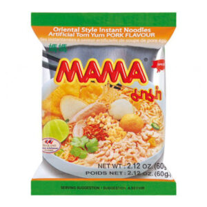 Mama Instant Noodles Tom Yum Pork - 60g