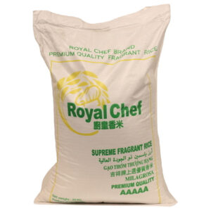 Jasmine Rice Royal Chef - 20kg