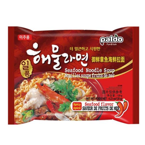 Korean Noodle Seafood Flavor - 5*120g