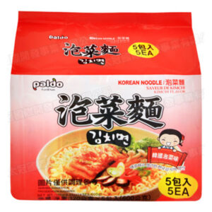 Korean Noodles Kimchi Flavor - 5*120g