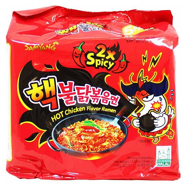 Hot Chicken Flavor Ramen 2x spicy - 5*140g