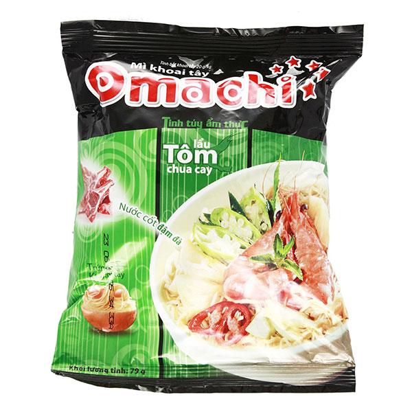 Omachi Instant Noodle Shrimp - 80g
