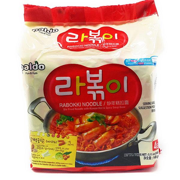 Rabokki Noodle - 4*145g