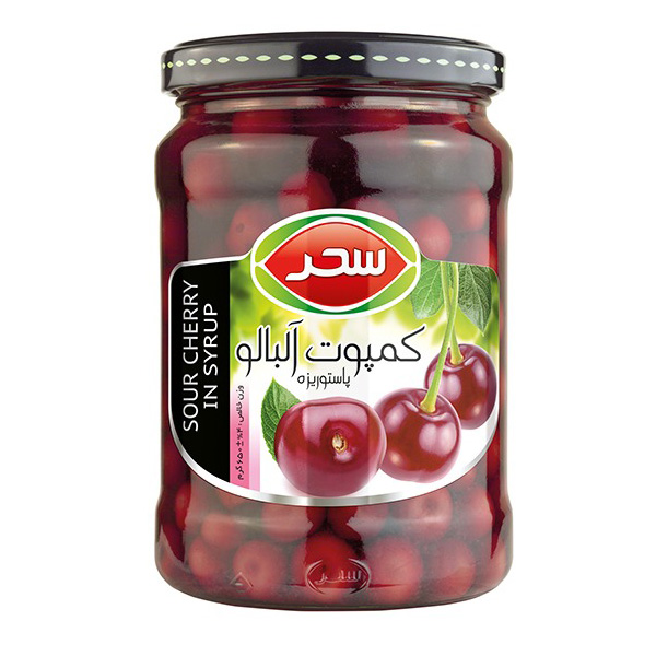 4x Sour Cherry in syrup - 650g