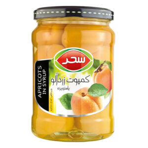 Apricots in syrup - 660g