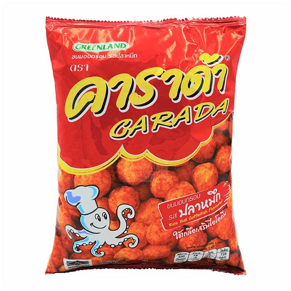 Carada Rice Ball Cuttlefish Flavored - 68g