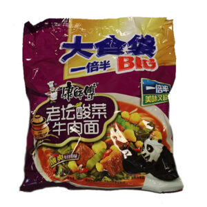 Instant Noodle Spicy Pickled Mustard Beef Flavor - 117g